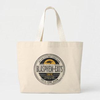 Blasphem-Eats Large Tote Bag