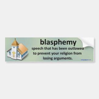 blasphemy...