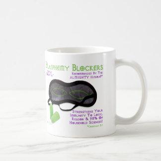 Blasphemy Blockers Classic White Coffee Mug