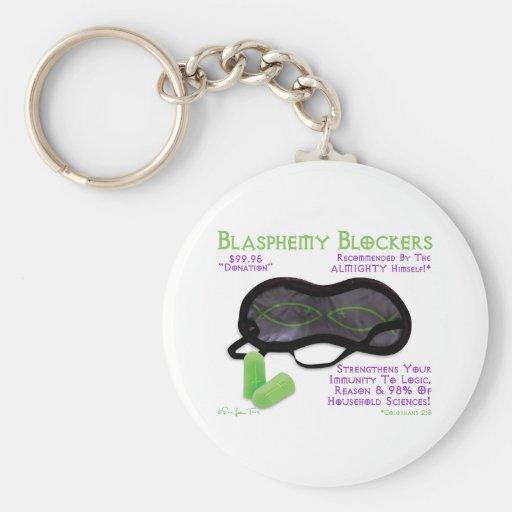 Blasphemy Blockers Key Chains