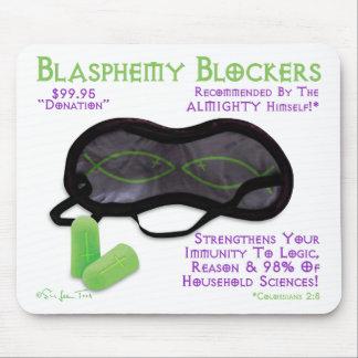 Blasphemy Blockers Mouse Mat
