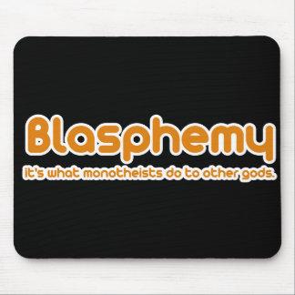 Blasphemy Mousepad