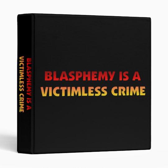 Blasphemy Victimless Crime Binder