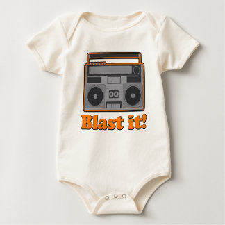 Blast it! baby bodysuit