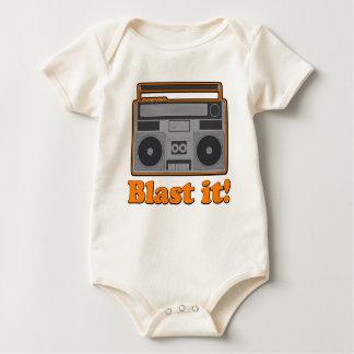Blast it! baby bodysuits