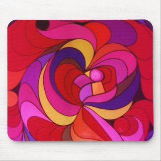Blast of colors mouse pad