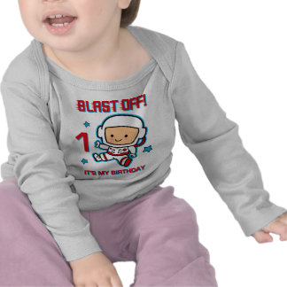 Blast Off 1st Birthday Infant Long Sleeve T-Shirt