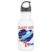 Blast Off 1st Grade Water Bottle