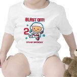 Blast Off 2nd Birthday Infant Creeper