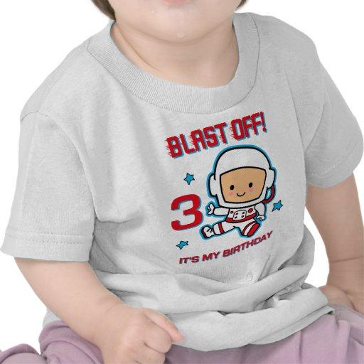 Blast Off 3rd Birthday T-Shirt