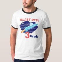 Blast Off 3rd Grade T-Shirt