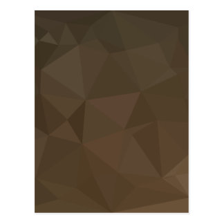 Blast Off Bronze Abstract Low Polygon Background Postcard