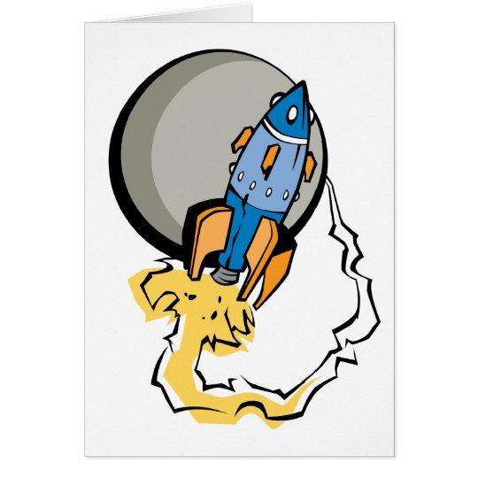 Blast Off! Card