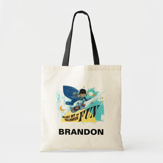 Blast off for Halloween Fun Tote Bag