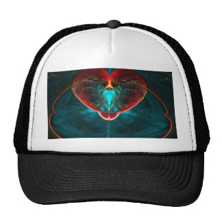 Blast off Heart Trucker Hat