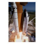 "Blast-off of the Space Shuttle ""Endeavor"" Poster"