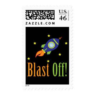Blast Off Stamps