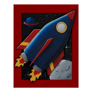 BLAST OFF! POSTERS