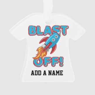 Blast Off Rocket Ship