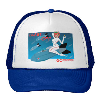 Blast Off Trucker Hat