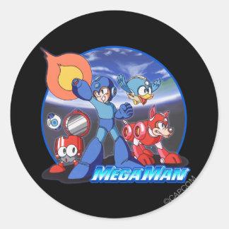 Blast! Round Stickers