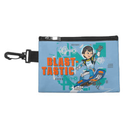 Clip On Accessory Bag with Blast-tastic Miles Callisto design
