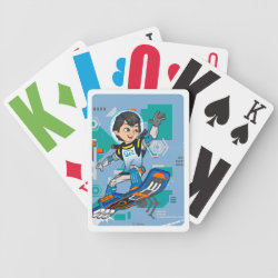 Playing Cards with Blast-tastic Miles Callisto design
