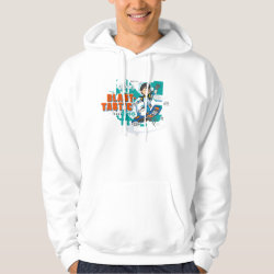 Men's Basic Hooded Sweatshirt with Blast-tastic Miles Callisto design