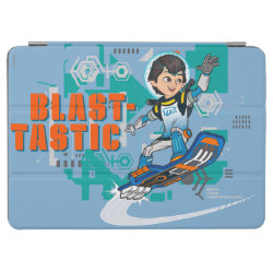 iPad Air Cover with Blast-tastic Miles Callisto design