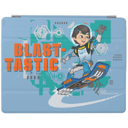 iPad 2/3/4 Cover with Blast-tastic Miles Callisto design