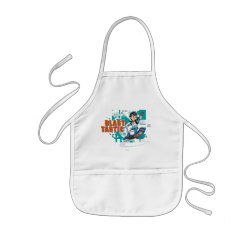 Kid's Apron with Blast-tastic Miles Callisto design