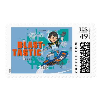 Blast-Tastic Miles Callisto Blastboard Graphic Postage