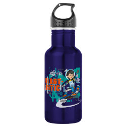 Water Bottle (24 oz) with Blast-tastic Miles Callisto design