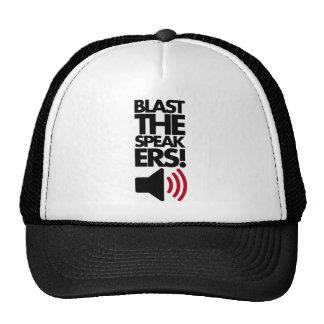 Blast The Speakers Trucker Hat