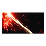 Blasted Lights Personalized Photo Card