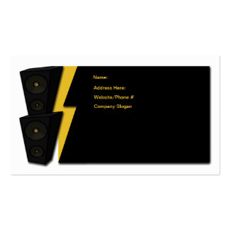 Blaster Double-Sided Standard Business Cards (Pack Of 100)