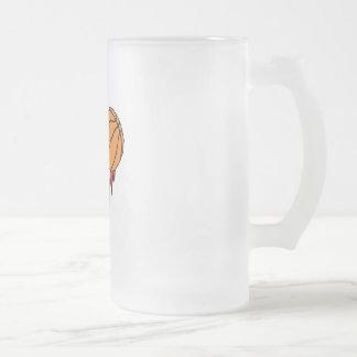 blasting flames basketball coffee mugs