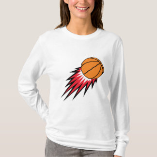 blasting flames basketball T-Shirt