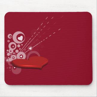 Blasting Love Mouse Pad