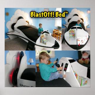 BlastOff! Bed™ Print