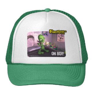 ¡BlastOff! El ™ se levanta el gorra