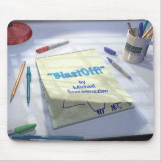 BlastOff! Page Turn Mouse Pad