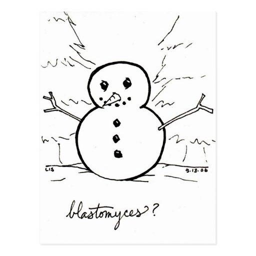 Blastomyces postcard
