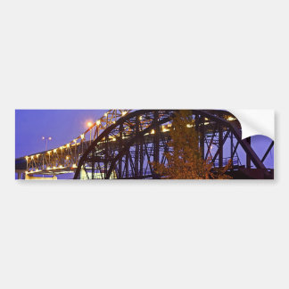 Blatnik Bridge and Fishing Pier Bumper Sticker