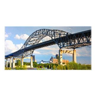 Blatnik Bridge Personalized Photo Card