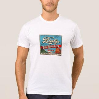 Blatz Old Heidelberg Vintage Beer Label Restored T-Shirt