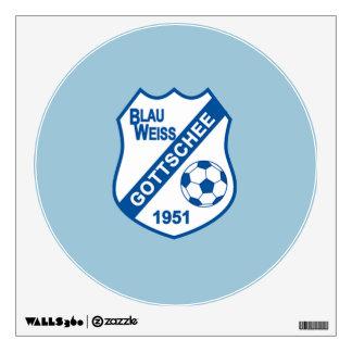 Blau Weiss Gottschee Wall Decal