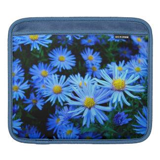 Blaue Blume iPad Sleeve