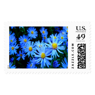 Blaue Blume Large Postage Stamps