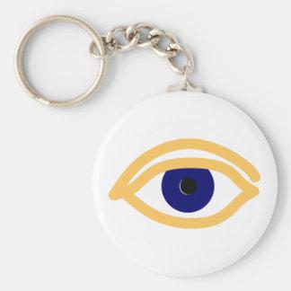 blaues Auge blue eye Keychain